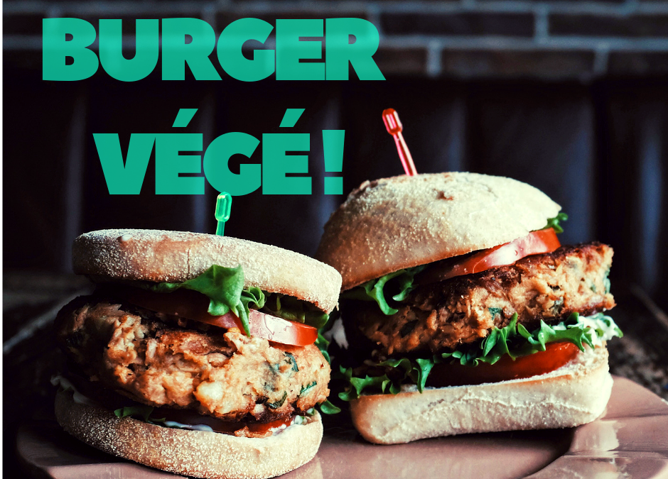 Recette Végé Burger JOY FOOD